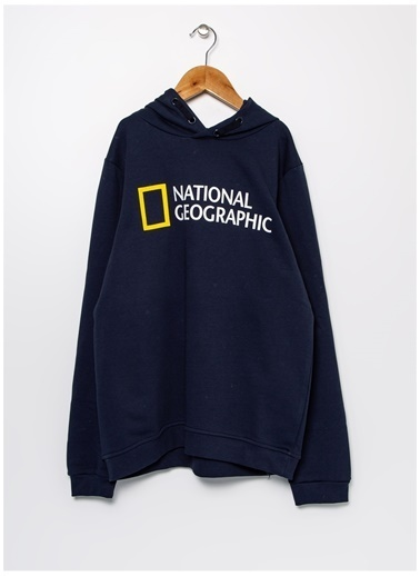 National Geographic Sweatshirt Lacivert
